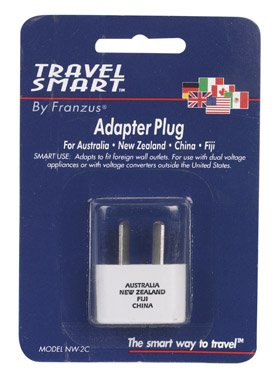Franzus NW2C Angled Foreign Adapter Plug, One-Size, White ()