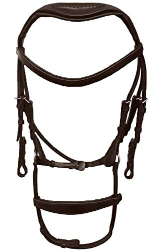 Collegiate ComFiTec Training Bridle Full Brown