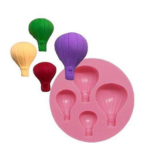 MARGUERAS 1pcs balón Molde de Silicona Fondant Pastel decoración ...