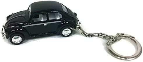 Bling My Bug VW Beetle Keychain New Black Beetle