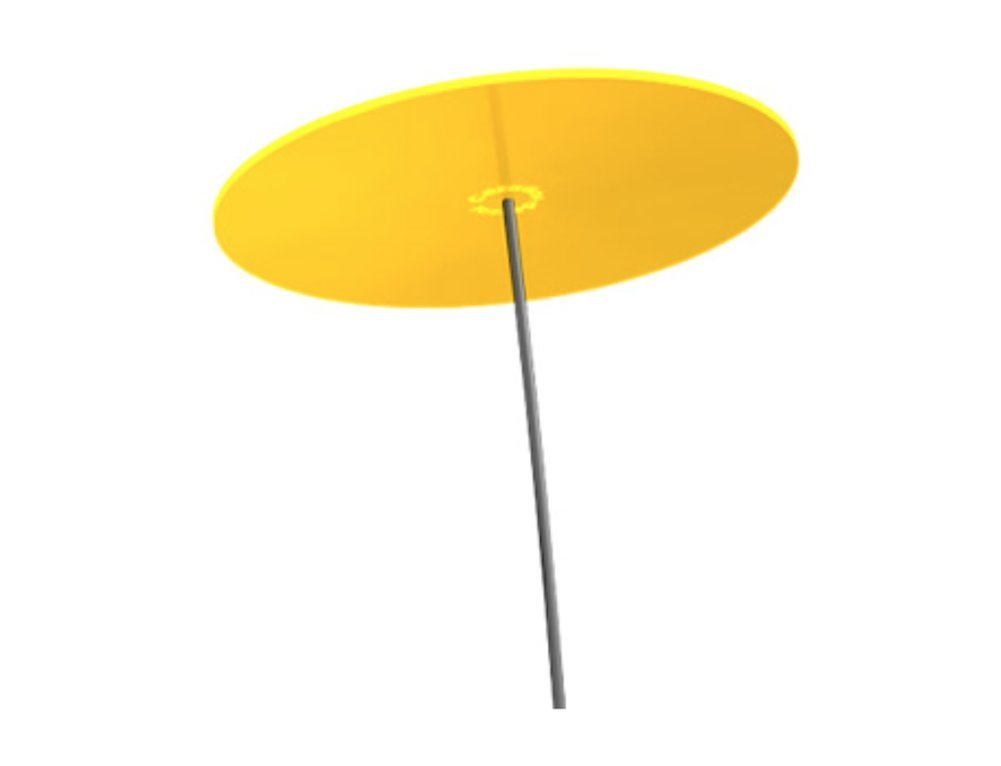 Cazador-del-sol ® | Uno One Unit Yellow 175cm/ 68,90'' High