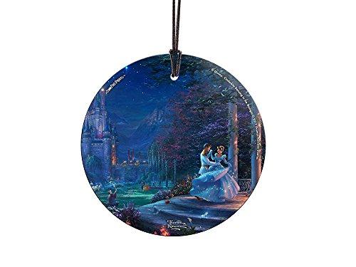 Thomas Kinkade Disney Dancing in the Starlight Cinderella StarFire Prints Hanging (Cinderella Dancing)