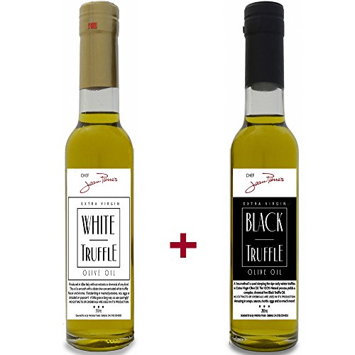 White & Black Truffle Oil SUPER CONCENTRATED 200ml (7oz) 100% Natural NO ARTIFICIAL ANYTHING