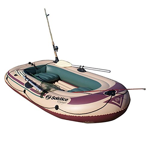 Solstice Swimline Voyager 30400 Inflatable 4 Person Fishi...
