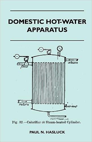 Domestic Hot-Water Apparatus: Paul N. Hasluck: 9781446518113: Amazon ...