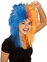 Rubie's Costume Black and Sports Fan Wig