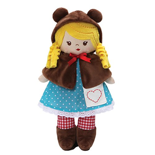 Baby GUND Goldie Fairy Tale Stuffed Plush Doll Toy, 13