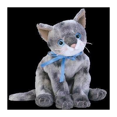 TY Beanie Baby - FRISCO the Gray Cat: Toys & Games