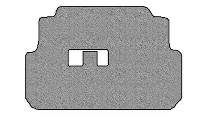 - Precedent - Club Car Golf Cart 1 Piece Front Floor Mat 42oz Berber Touring Carpet Medium Grey