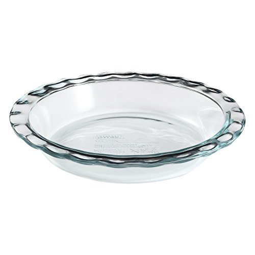 Pyrex Easy Grab 9.5 inch Glass Pie Plate (Pack of 9)