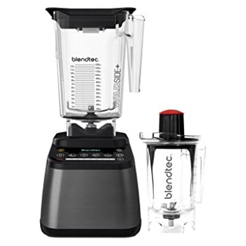 Blendtec D725C3217A1A-AMAZON Designer 725 Blender with Wild Side and Twister Jar, Gunmetal