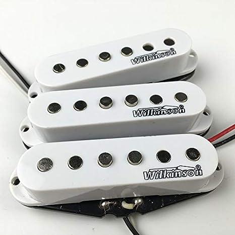 Wilkinson pastillas para guitarra eléctrica, clásicas, de una sola ...