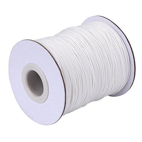Lvcky filo Lift paralume bianco 99,7m/rotolo per tenda, giardinaggio e creazioni in alluminio (1.0mm)