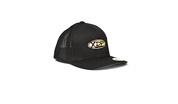 Amazon.com  XDP - Xtreme Diesel Performance Black Black Flexfit Trucker Cap   Automotive dd82e14296b9