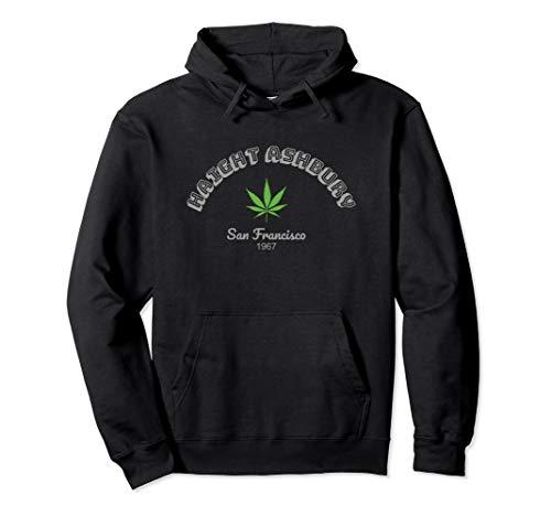 Haight Ashbury Cannabis San Francisco California USA 1967 Pullover Hoodie