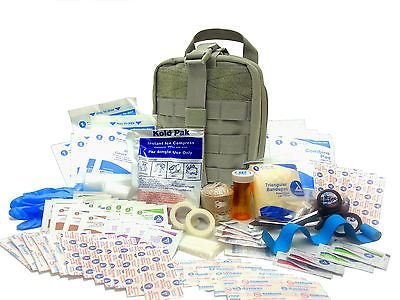 Surplus Provisions Military RipAway EMT First Aid Kit IFAK Level 1 Army Medic OD, Green, #FA16 from Surplus Provisions LLC