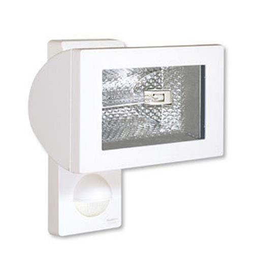 Steinel 632816 - Foco halógeno con sensor de movimiento, color blanco: Amazon.es: Iluminación
