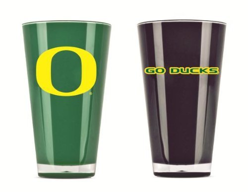 Oregon Ducks Official NCAA 20 fl. oz. Tumbler Cup Set by Duck House by Caseys