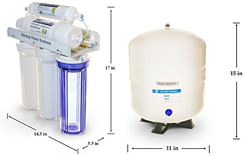 iSpring RCC1UP 6-Stage Maximum Performance Under-Sink Reverse Osmosis Drinking Water Filtration System with Booster Pump and UV Light Sterilizer by iSpring (Image #8)