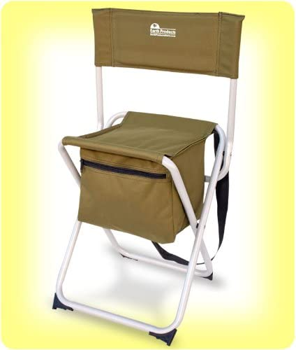 Earth TAKE-IT-Anywhere Compact Fishing Chair Outdoor Chair