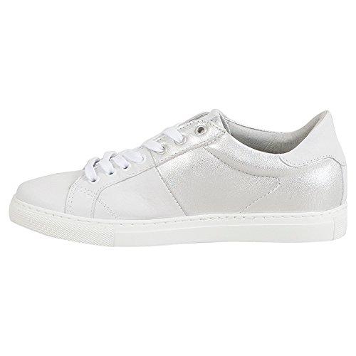 Miz Mooz Juno Womens Low-top Sneaker Bianco