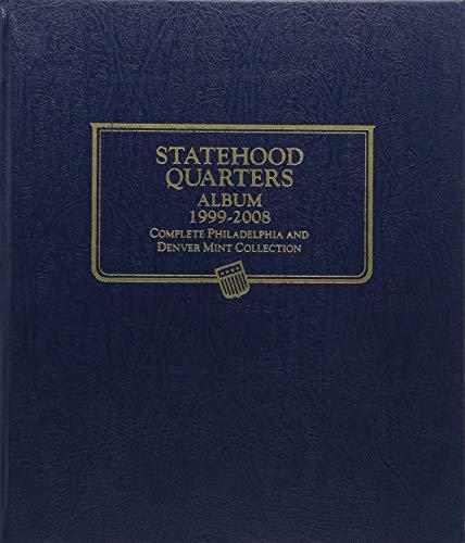 Whitman Album Quarter State (Statehood Quarter Coin Album 1999-2008)