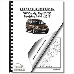 VW Caddy Typ 2C 10/> Dieselmotor 4-Zyl 2,0 l-Motor, Common Rail