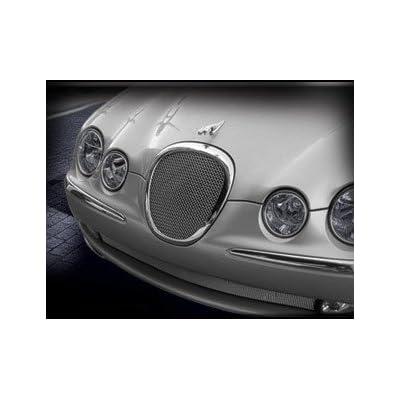 Jaguar S-type Mesh Grille Insert 1999 - 2004 Models Bright Stainless or Black