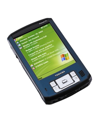 Toshiba e805 Pocket PC with Windows Mobile - Pocket E805 Pc