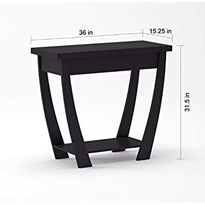 Amazon Com Yaheetech Wood Console Table Hall Table With