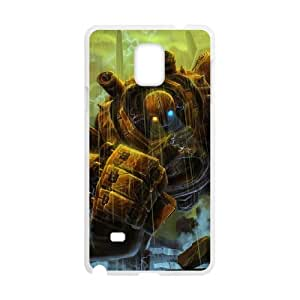 Samsung Galaxy Note 4 Cell Phone Case White League of Legends Rusty Blitzcrank LOL-STYLE-2906