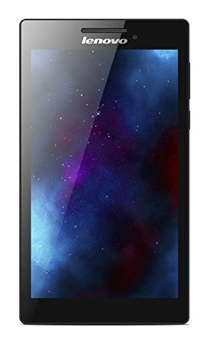 Lenovo Tab 2 A7-10 17,8 cm (7 Zoll IPS) Tablet (ARM MTK 8121 Quad-Core Prozessor, 1,3GHz, 1GB RAM, 8GB eMMC, GPS, Touchscreen, Dolby Sound, Android 4.4) schwarz