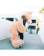 Bananair Enorme teddybeer (130 cm tot 340 cm) XXL grote teddy Bear knuffeldier perfect voor verjaardag, cadeau, Kerstmis, speelgoed pluche dieren