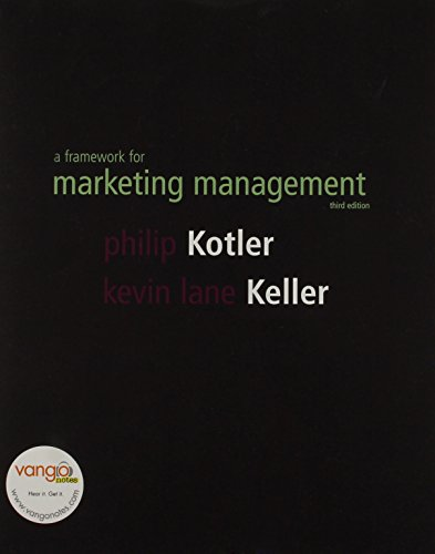 Framework for Marketing Management: AND The Marketing Plan Handbook