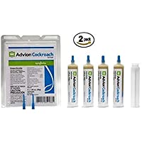advion Cockroach Gel Bait, 4-Syringes 1.06 oz Each