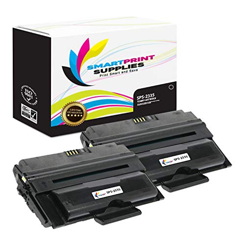 - Smart Print Supplies Compatible 330-2209 Black High Yield Toner Cartridge Replacement for Dell 2335DN 2235XC+A1393 Printers (6,000 Pages) - 2 Pack