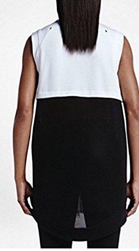 Nike Kvinnor Bundna Mesh Tröja Vit
