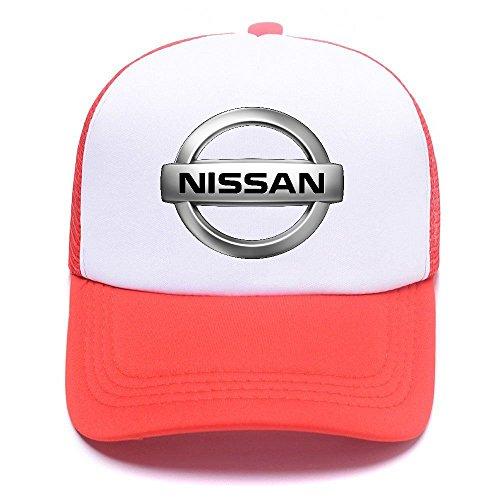 Niss Car Logo D66KA2 Trucker Hat Baseball Caps Gorras de Béisbol for Men Women Boy Girl Red