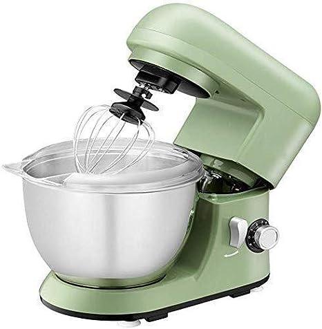 Batidoras amasadoras Eléctricos mezcladores de Alimentos con Cuencos, Puesto de Comida amasadora Blender 4L Cake Mixer con batidor Hook Bata por Making Home Baking Crema pastelera: Amazon.es