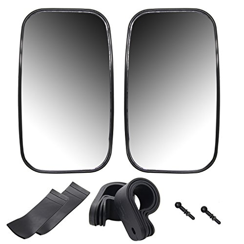 "1 Center Mirror (1 Pair Rear View Mirror with 1.5"" 1.75"