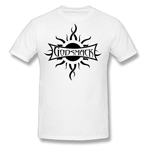 fengting-mens-godsmack-band-logo-t-shirt-size-xs-white