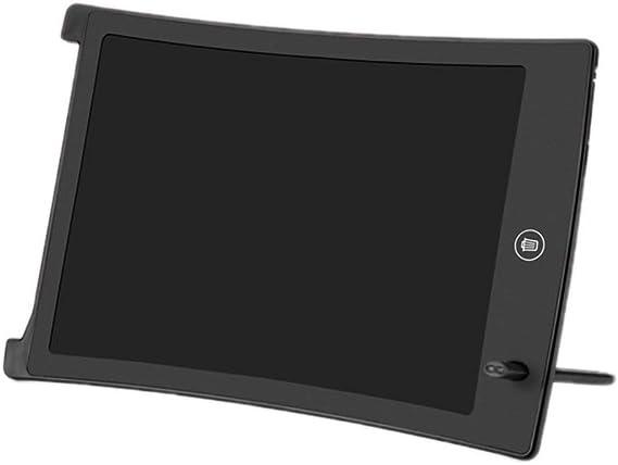 LCDライティングタブレット落書き製図板ポータブル電子機器のデジタル手書きパッド ペン&タッチ マンガ・イラスト制作用モデル (Color : Black)