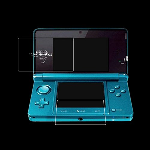 Fucung HD Clear Film Top + Bottom LCD Screen Protector For New Nintendo 3DS LL / XL Console Screen Film for Nintend 3DSXL / 3DS LL
