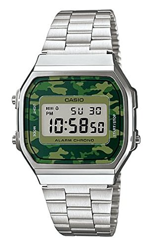 Casio Unisex Digital Fashion Quartz Watch A168WEC-3D