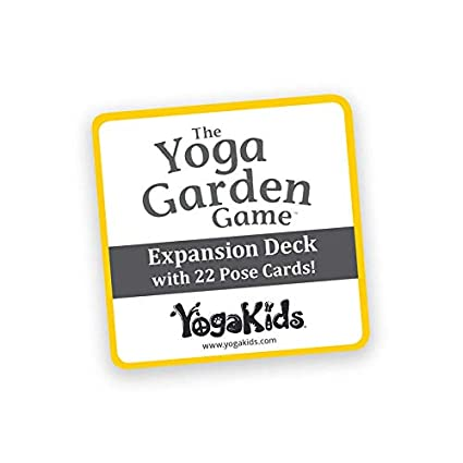 The Yoga Garden Game Pose Card Expansion Deck