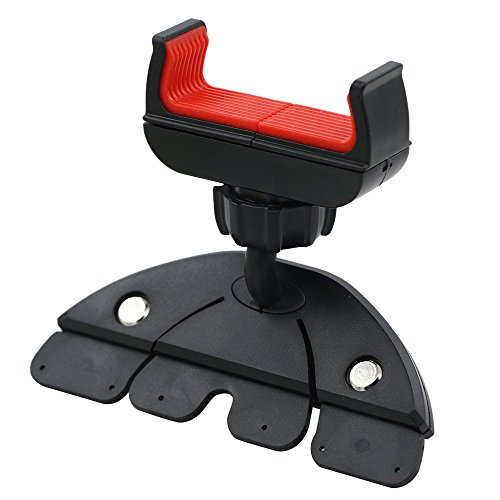 Polytree 360° Universal CD Slot Car Mount Holder Stand for Smart Phone GPS - Panel Slot Mount Mobile