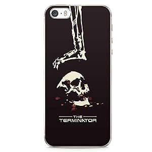 Loud Universe Terminator Skull iPhone 5 / 5s Case Machine Man iPhone 5 / 5s Cover with Transparent Edges