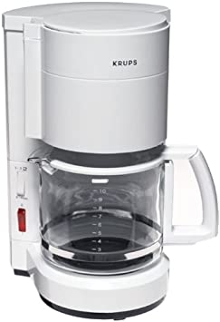 Krups 201-71 ProCafe Plus Coffeemaker, White, DISCONTINUED