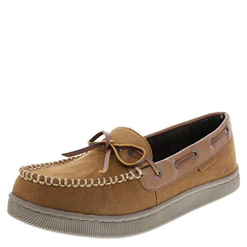 Airwalk Men's Tan Men's Mason Moccasin Slipper 12 Regular by Airwalk