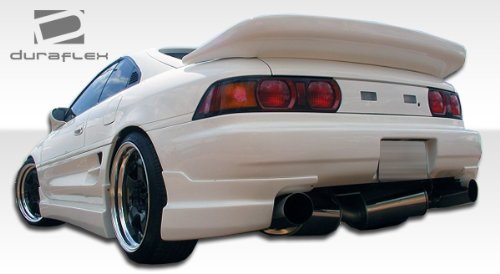Duraflex ED-ARS-462 Type B Rear Add On Bumper Extensions - 2 Piece Body Kit - Compatible For Toyota MR2 - Rear Bumper Kit 2 Body